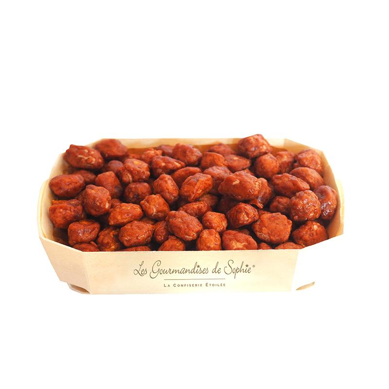 Cacahuètes grillés sucrées
