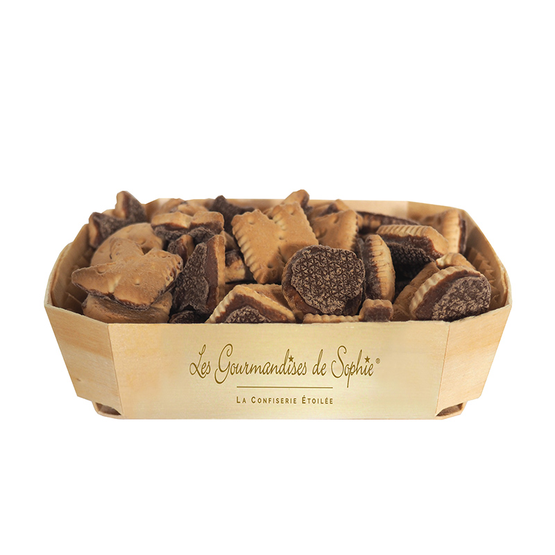Lettres biscuits (choco lait)