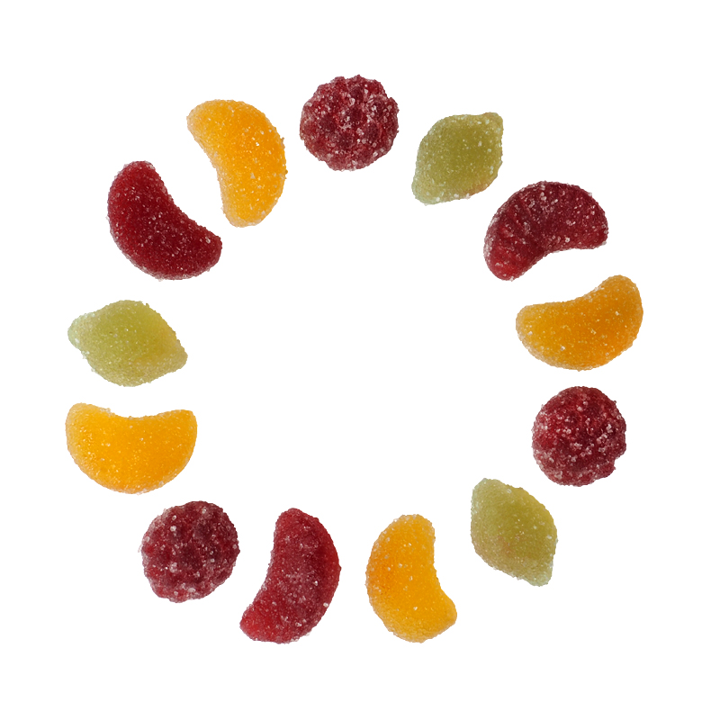 Mélange fruits – sucre