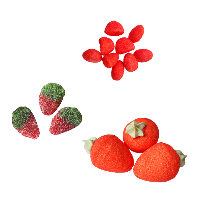 Trio de fraises