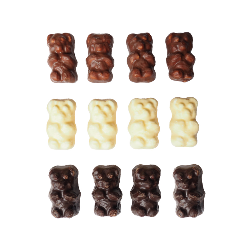 OURSONS GUIMAUVES 3 CHOCOLATS