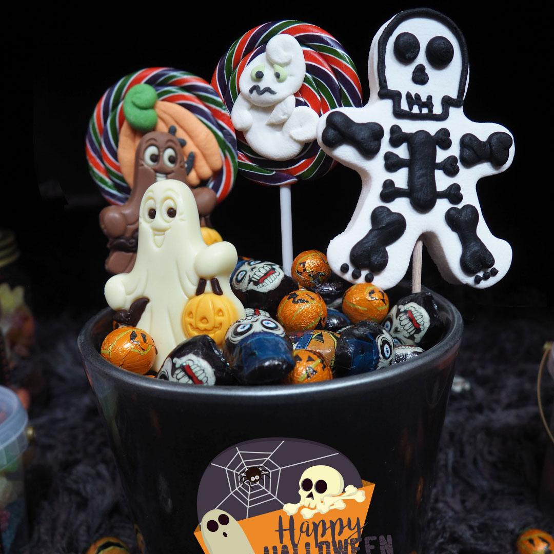 Sucette Fantôme Halloween