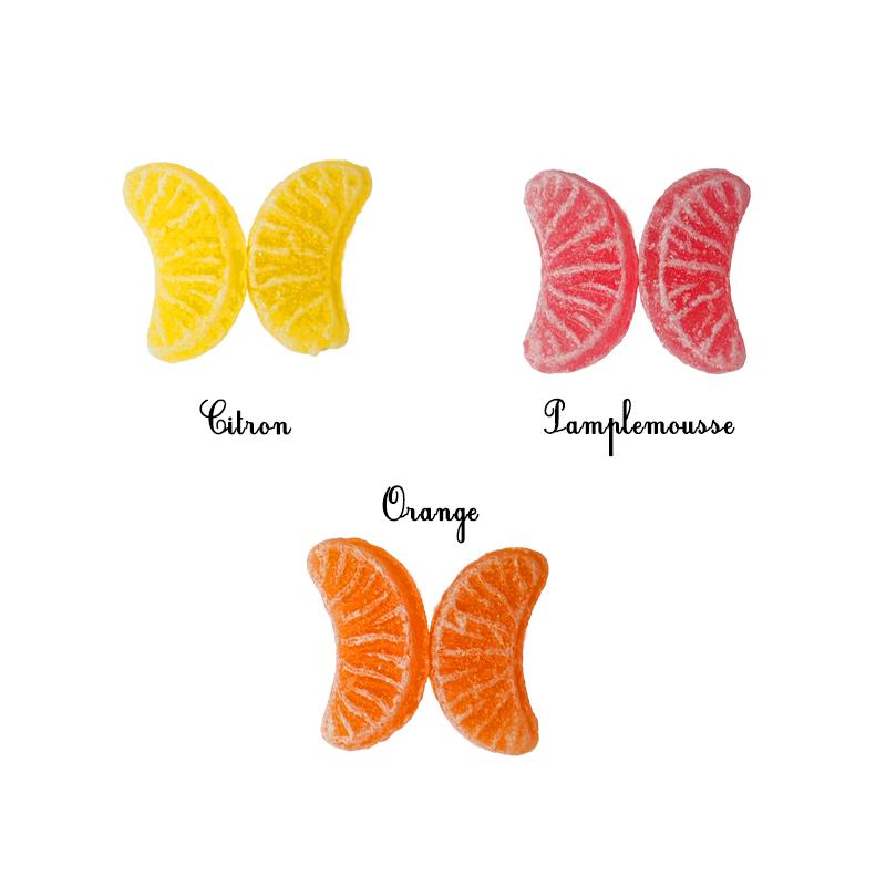 Quartiers de fruits - Bio
